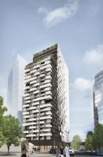 boceto arquitectura tower