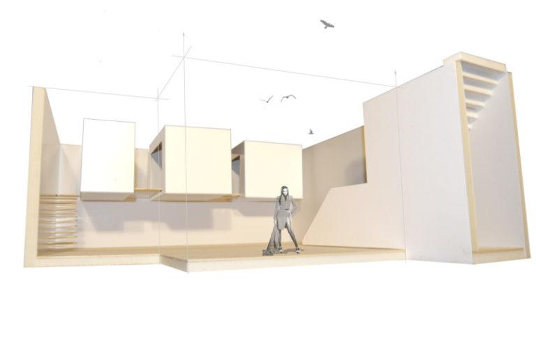 bocetaje apartamento subterraneo