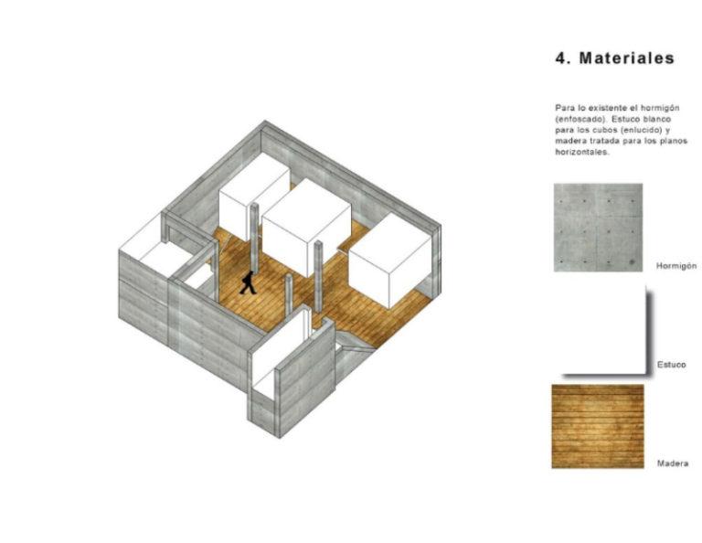 materiales apartamento
