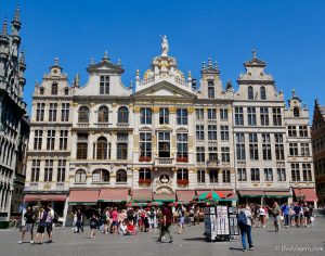 Guild houses in Brussels' Grand Place